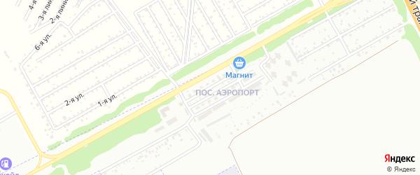 Улица Строителей на карте микрорайона Аэропорта с номерами домов