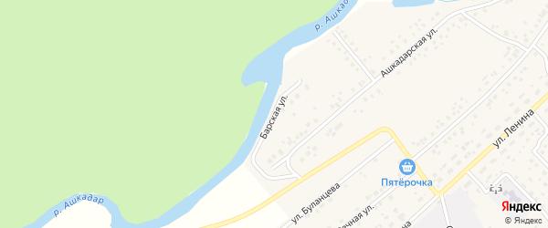 Барская улица на карте села Наумовки с номерами домов