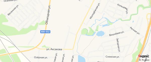 СТ Полигон на карте Авдонского сельсовета с номерами домов