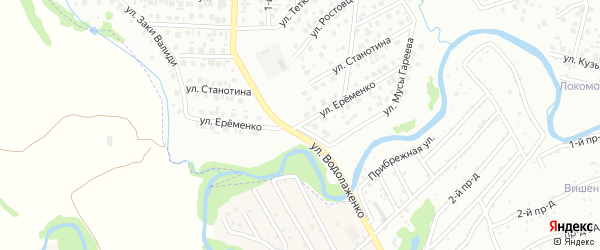 Улица Еременко на карте Стерлитамака с номерами домов