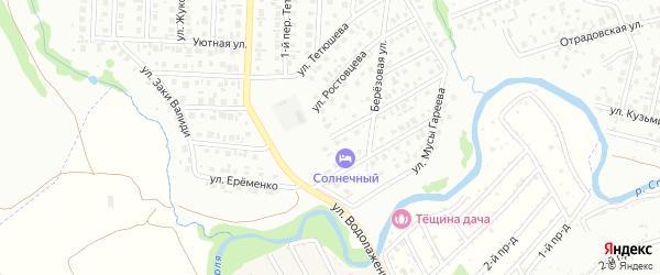 Улица Станотина на карте Стерлитамака с номерами домов