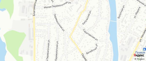 Баймакская улица на карте Уфы с номерами домов