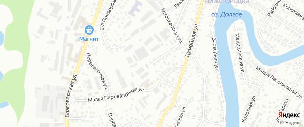 Кирзаводская улица на карте Уфы с номерами домов