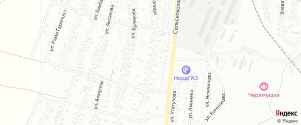 Улица Валиди на карте Мелеуза с номерами домов