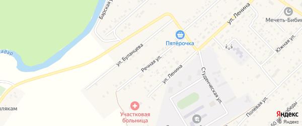 Речная улица на карте села Наумовки с номерами домов