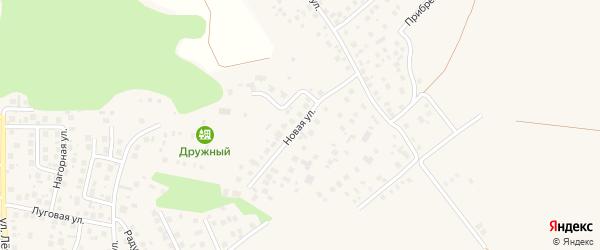 Новая улица на карте деревни Суровки с номерами домов