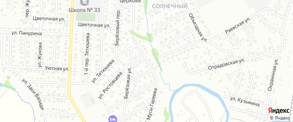 Улица Мусы Гареева на карте Стерлитамака с номерами домов