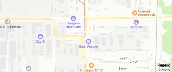 Улица Молодогвардейцев на карте Салавата с номерами домов