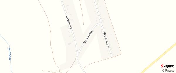 Верхняя улица на карте села Александровки с номерами домов