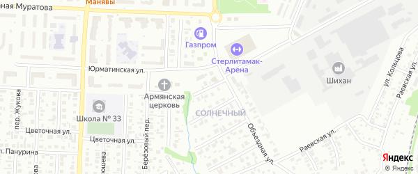 Родниковая улица на карте Стерлитамака с номерами домов