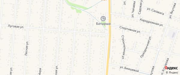Улица Ленина на карте села Старобалтачево с номерами домов