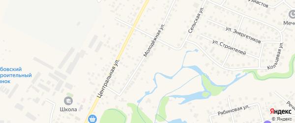 Рядовая улица на карте села Зубово с номерами домов