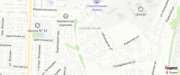 Улица Бабича на карте Стерлитамака с номерами домов