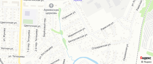 Мариинская улица на карте Стерлитамака с номерами домов