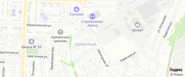 Объездная улица на карте Стерлитамака с номерами домов