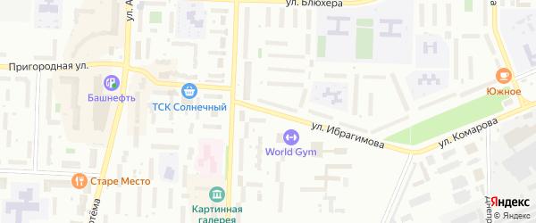 Улица Ибрагимова на карте Стерлитамака с номерами домов