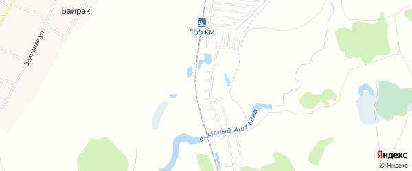 СНТ Локомотив на карте Стерлитамакского района с номерами домов