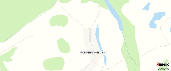 Карта Никольского поселка города Уфы в Башкортостане с улицами и номерами домов