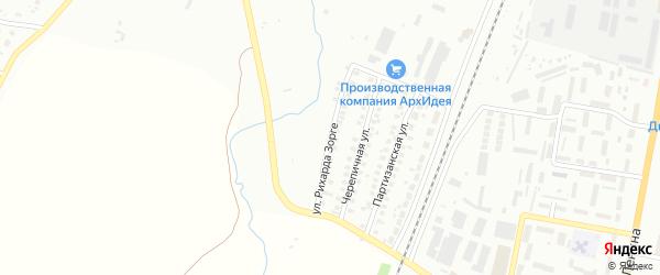 Улица Р.Зорге на карте Мелеуза с номерами домов