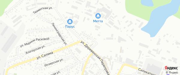 Зигазинская улица на карте Уфы с номерами домов