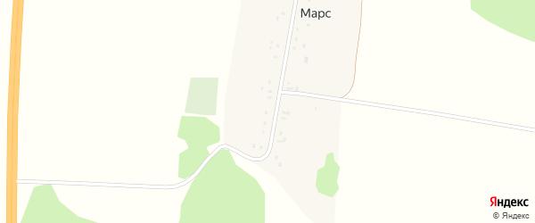Улица Матросова на карте деревни Марса с номерами домов