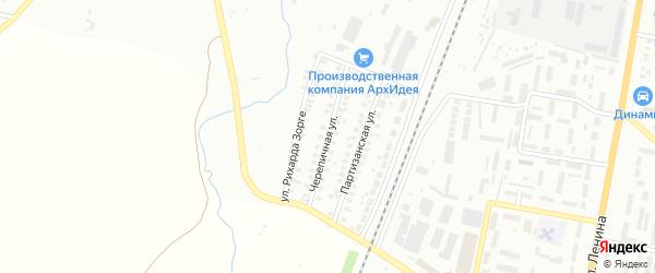 Черепичная улица на карте Мелеуза с номерами домов