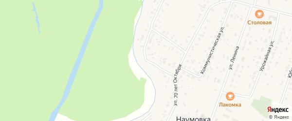 Ашкадарская улица на карте села Наумовки с номерами домов