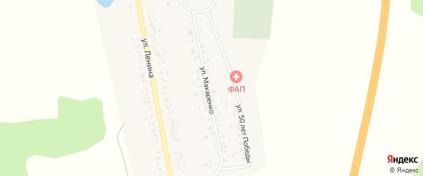 Улица Макаренко на карте села Толбазы с номерами домов