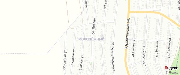 Ногайская улица на карте Мелеуза с номерами домов