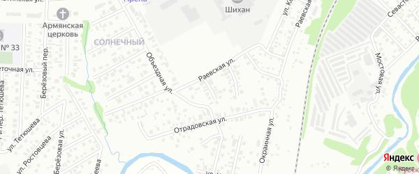 Белоусовский 2-й переулок на карте Стерлитамака с номерами домов
