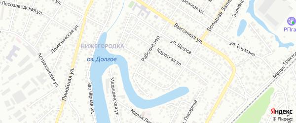 Богатырская улица на карте Уфы с номерами домов