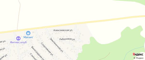 Алексеевская улица на карте деревни Суровки с номерами домов