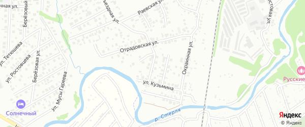 В.Ф.Кузьмина 2-й переулок на карте Стерлитамака с номерами домов