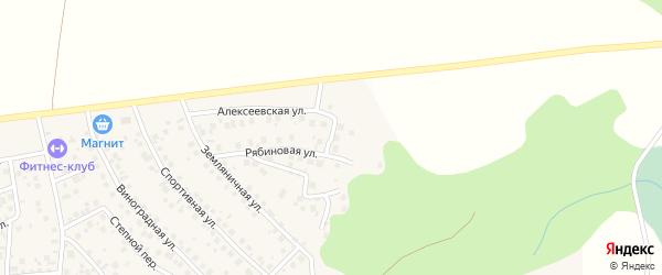 Алексеевский переулок на карте деревни Суровки с номерами домов