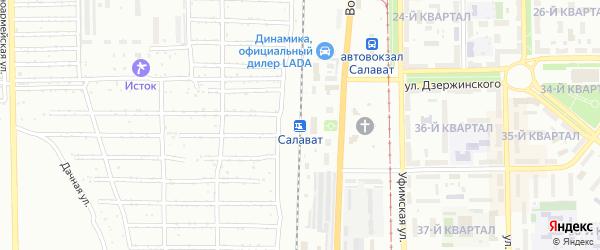 Станция Салават на карте Салавата с номерами домов