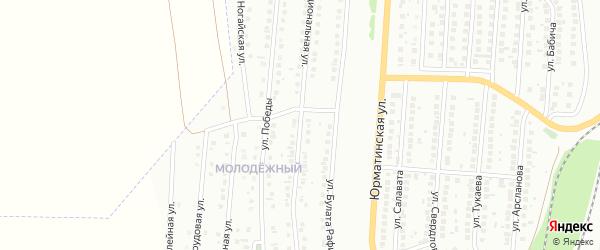 Интернациональная улица на карте Мелеуза с номерами домов