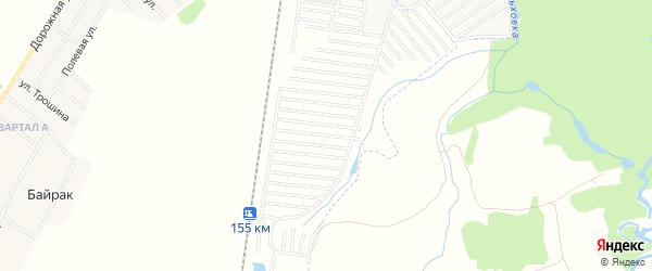 СНТ Радист на карте Стерлитамакского района с номерами домов
