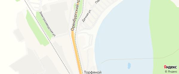 СНТ Малахит на карте Уфимского района с номерами домов