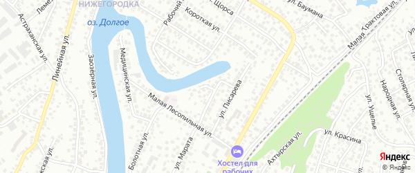 Котельная улица на карте Уфы с номерами домов