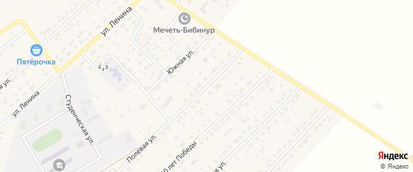 Полевая улица на карте села Наумовки с номерами домов