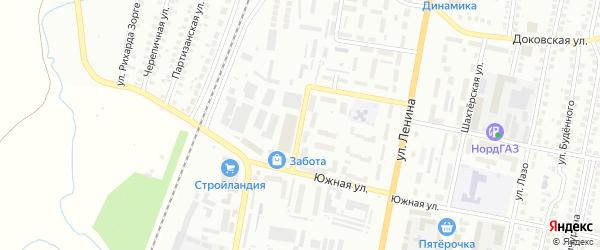 Техническая улица на карте Мелеуза с номерами домов