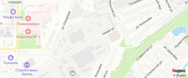 Новая улица на карте Стерлитамака с номерами домов