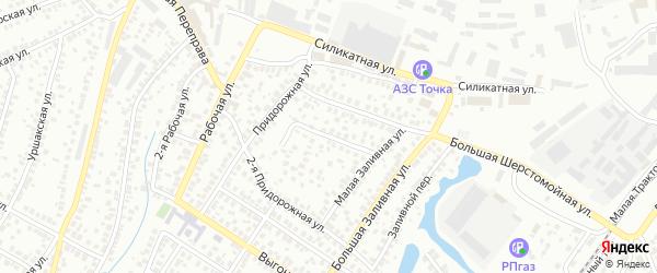 Малая Шерстомойная улица на карте Уфы с номерами домов