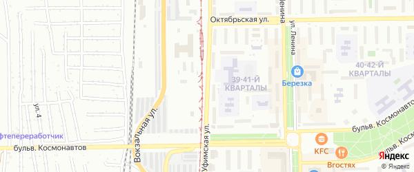 Уфимская улица на карте Салавата с номерами домов