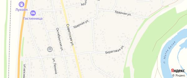 Интернациональная улица на карте села Зиргана с номерами домов
