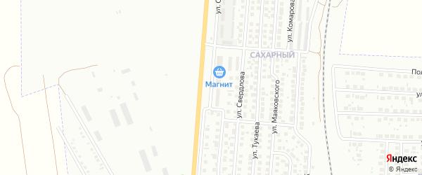 Улица Салавата на карте Мелеуза с номерами домов