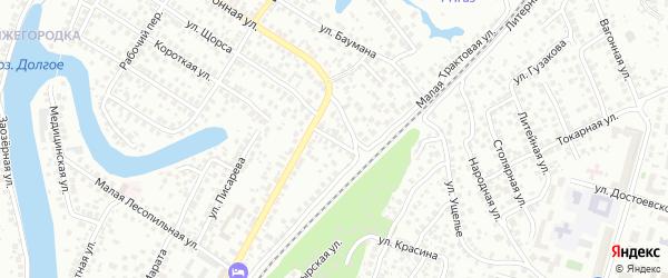Низовая улица на карте Уфы с номерами домов