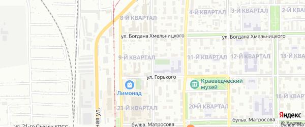 Колхозная улица на карте Салавата с номерами домов