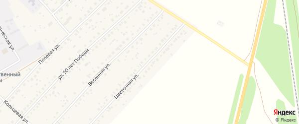 Цветочная улица на карте села Наумовки с номерами домов