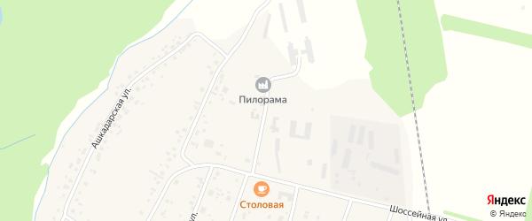Производственная улица на карте села Наумовки с номерами домов